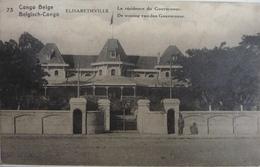 Elisabethville : La Résidence Du Gouverneur - Belgian Congo - Other