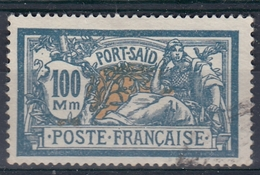 +M65. Port Said 1927-28. Yvert 84. - Oblitérés