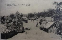 Stanley-Falls : Un Village - Belgian Congo - Other