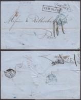 """Russie - LAC Expédiée De Odessa Le 15/11/1859 Vers Paris Griffe """"AUS RUSSLAND"""" Passage """"Prusse Valencienne""""(RD60)DC5563 - 1857-1916 Impero"""