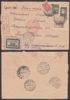 Russie -Lettre Yv 427+430x2+434 En Recom. Par Avion De Moscou 18/09/1932 Vers Zurich (RD64)DC5567 - Covers & Documents