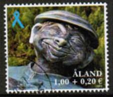 2013 Aland Islands, Blue Ribbon Used. - Aland
