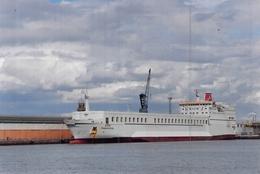 "PHOTO BATEAU Sealink"" Stena Transporter "" Ferries Ex ""Stena Transporter "" Ex "" Finnrose "" 1978 Corée - Schiffe"