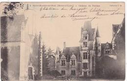 Maine Et Loire : SAINT-MARTIN-du-BOIS :  Chateau Du Percher ( Précurseur ) - Francia