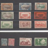 Martinique  : Timbres Divers - Martinique (1886-1947)