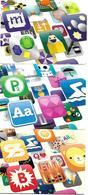 @+ Lot De 3 Cartes Cadeau - Gift Card : App Store - Apple 15€ - 25€ Et 50€ - 2009 (France) - Frankreich