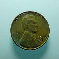 USA 1 Cent 1940 D - Émissions Fédérales