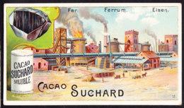 CHROMO Chocolat SUCHARD     Metaux   Fer   Ferrum Eisen  Industrie  Metals  Steel  Serie 132 - Suchard