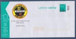 = Enveloppe Entier Repiquage Privé TVP LV ASCPA (Association Sportive Et Culturelle Pessac Alouette) - Enteros Postales