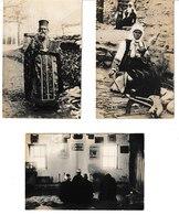 Macédoine, Albanie, Salonique Campagne D'Orient 8 Cartes Photos  (popes, Immans, Pogradec...) - Guerre 1914-18