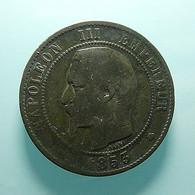 France 10 Centimes 1853 MA - D. 10 Centimes