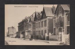 CPA . 62 . MERLIMONT . Avenue De La Plage . - Otros Municipios