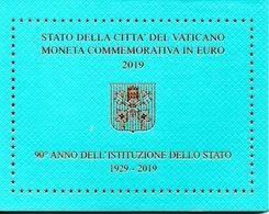 VATICANO - 2 EURO- 90° ANNO DELL'ISTITUZIONE DELLO STATO - 1929-2019 - Vatican