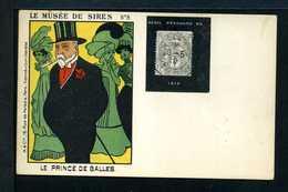 Type BLANC N° 107 Sur Carte Porte Timbre DEUIL D'EDOUARDVII N° 430 Yvert (livret De L'expert 2010) - 1900-29 Blanc