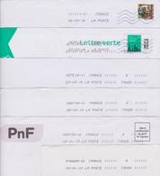 Lot De 16 Plis Avec Oblitération Toshiba A TAXER + 1 Anomalie - Marcophilie (Lettres)
