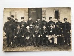 Foto Ak Soldats Francais Group Regiment Infanterie 152 Gerardmer Photo Union Festas Besancon - Regimente