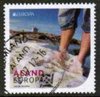 2012 Aland  M 358 Europa Cept, Visit Åland Used. - Aland
