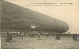 54 LUNEVILLE - UN ZEPPELIN - Luneville