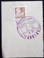 CHINA  CHINE CINA 1959 Commemorative Postmark  纪念邮戳 - 19 - 1949 - ... République Populaire