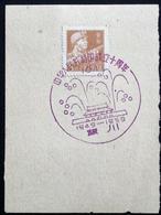 CHINA  CHINE CINA 1959 Commemorative Postmark  纪念邮戳 - 27 - 1949 - ... République Populaire