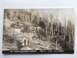 Ak Hartmannswillerkopf Abris Cote Allemand Waldlager - Oorlog 1914-18