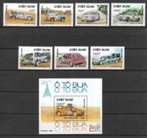 Vietnam Viet Nam MNH Perf Stamps & Souvenir Sheet 1991 : Rally Cars / Car (Ms621) - Vietnam