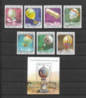 Vietnam Viet Nam MNH Perf Stamps & Souvenir Sheet 1983 : Bicentenary Of The 1st Manned Balloon Flight (Ms412) - Vietnam