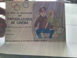 Humour Le Titre De Championne Des Papouilleuse De Cinéma Décerné Pour L'année - Humour