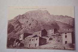Entrée Du Village D'Asco Sous Le Mt PADRO - Autres Communes
