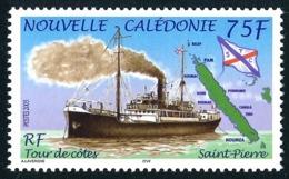 NOUV.-CALEDONIE 2005 - Yv. 945 **   Faciale= 0,63 EUR - Bateau à Vapeur Saint-Pierre. Tour Des Côtes  ..Réf.NCE25575 - New Caledonia