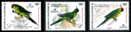 NOUV.-CALEDONIE 2005 - Yv. 948 à 950 **   Faciale= 1,89 EUR - Oiseaux. Perruches En Disparition (3 Val)  ..Réf.NCE25577 - New Caledonia