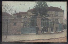 ACHERES 78 - La Mairie - Carte Toilée - Etat - Acheres
