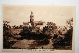 44 : Savenay - Le Vallon Et L'Eglise - Savenay