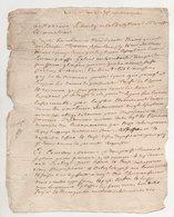 Généralité De Tours 1711 - Manuscripts