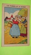 Image Récompense D'école - FABLE DE LA FONTAINE - Les Femmes Et Le Secret - RIVOIRE & JEANDET - TARARE / 125 - Documentos Antiguos