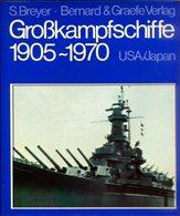 Grosskampfschiffe 1905-1970 Band 2: USA/ Japan - Bücher