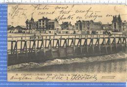 X14065 COURSEULLES-sur-Mer La Jetée Et Les Villas De La Plage 1910s LEVY NEURDEIN 16 Calvados - Courseulles-sur-Mer