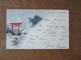 CACHET YOKOHAMA 25 APR 02 JAPAN SUR CARTE POSTALE - Altri