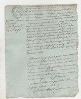 Montlouis An 3 - Manuscripts