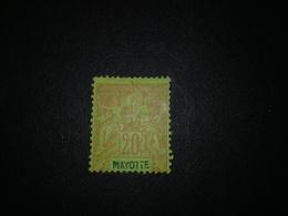 MAYOTTE N°7 *MH - Nuovi