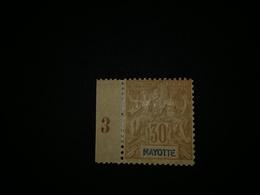 MAYOTTE N°9 *MH - Nuovi