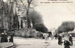 FRANCE -  Lannion Eglise St-Jean Du Baly Et Allee Verte - Lannion