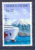 SIERRA LEONE. 1988. 125th ANNIVERSARY OF RED CROSS SHIP  MNH - 1997-... Speciale Bestuurlijke Regio Van China