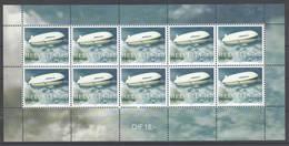 Schweiz , Postfrischer Kleinbogen , Graf Zeppelin ,  18 Franken Porto - Blocks & Sheetlets & Panes