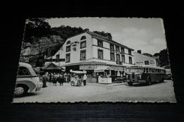 1843             Remouchamps : Hotel De La Grotte , Vendeur De La Gelace- Ijsverkoper Animée   - Bus / Auto / Car - Aywaille