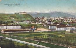 Ljubljana Laibach - Pogled Z Golovca - Slowenien