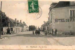Meillant -   Rue  De  Dun. - Meillant