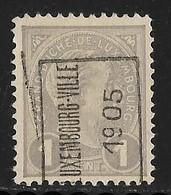 Luxembourg 1905  Prifix Nr. 22A - Precancels