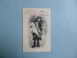 """"""" La Petite Mendiante """"  -  Edition BERGERET  -  Nancy  - - Rotes Kreuz"""