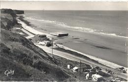 CPM Vierville - Saint-Laurent Sur Mer - Omaha Beach La Plage Et La Digue - Francia